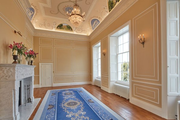 The former boardroom is now a magnificent drawing room