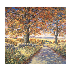 Perthshire Road - Limited Edition Giclee Art Print by John Bathgate