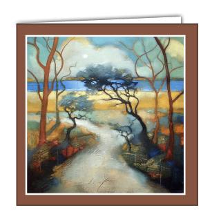 Sea Breeze Art Card by Lesley McLaren
