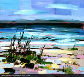 Catacol Bay, Arran - Limited Edition Giclee Art Print by Judith I Bridgland