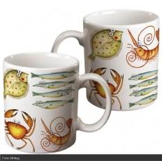 Fishy Gift Mug by Clare Mackie
