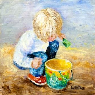 Celestes New Bucket by Leila Aitken
