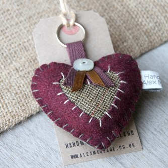 Heart Key Ring - Alex McQuade