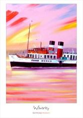 Waverley A3 Art Poster