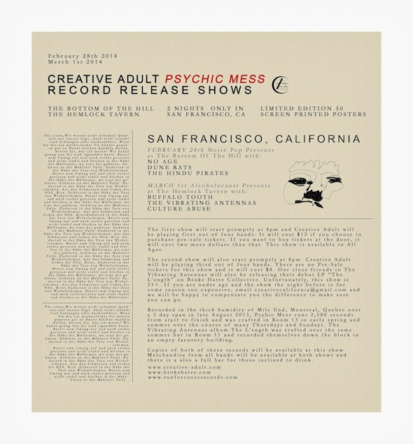CA Poster-Double-Record-Release