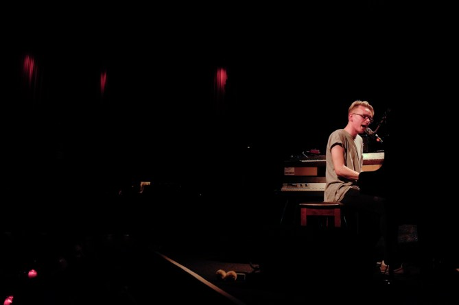 Douglas Dare @ The Independent 3/17/14 - photo by Nicole Browner