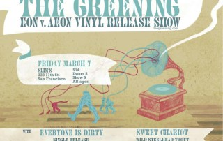 The Greening Eon vs. Aeon Release Show
