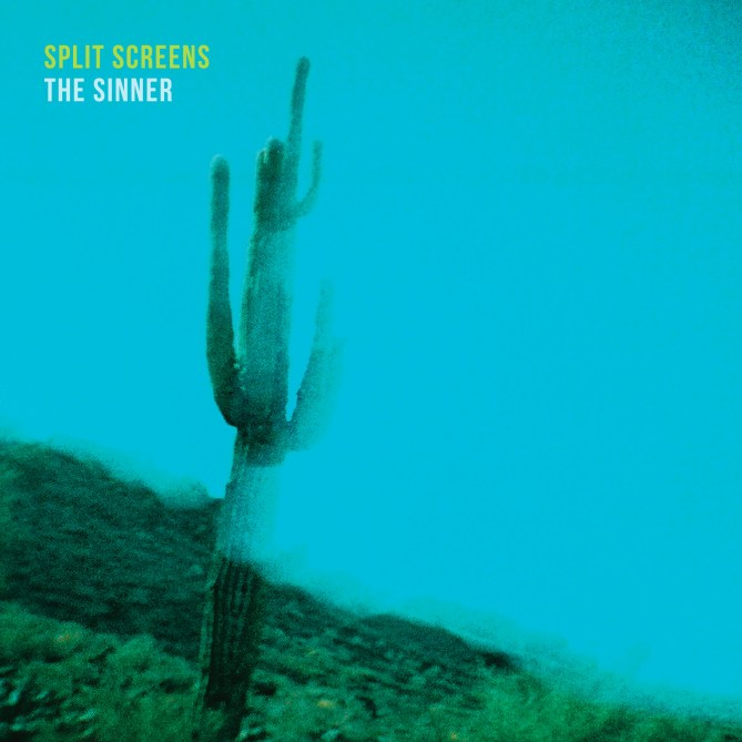 "Split Screens - ""The Sinner"" single cover"