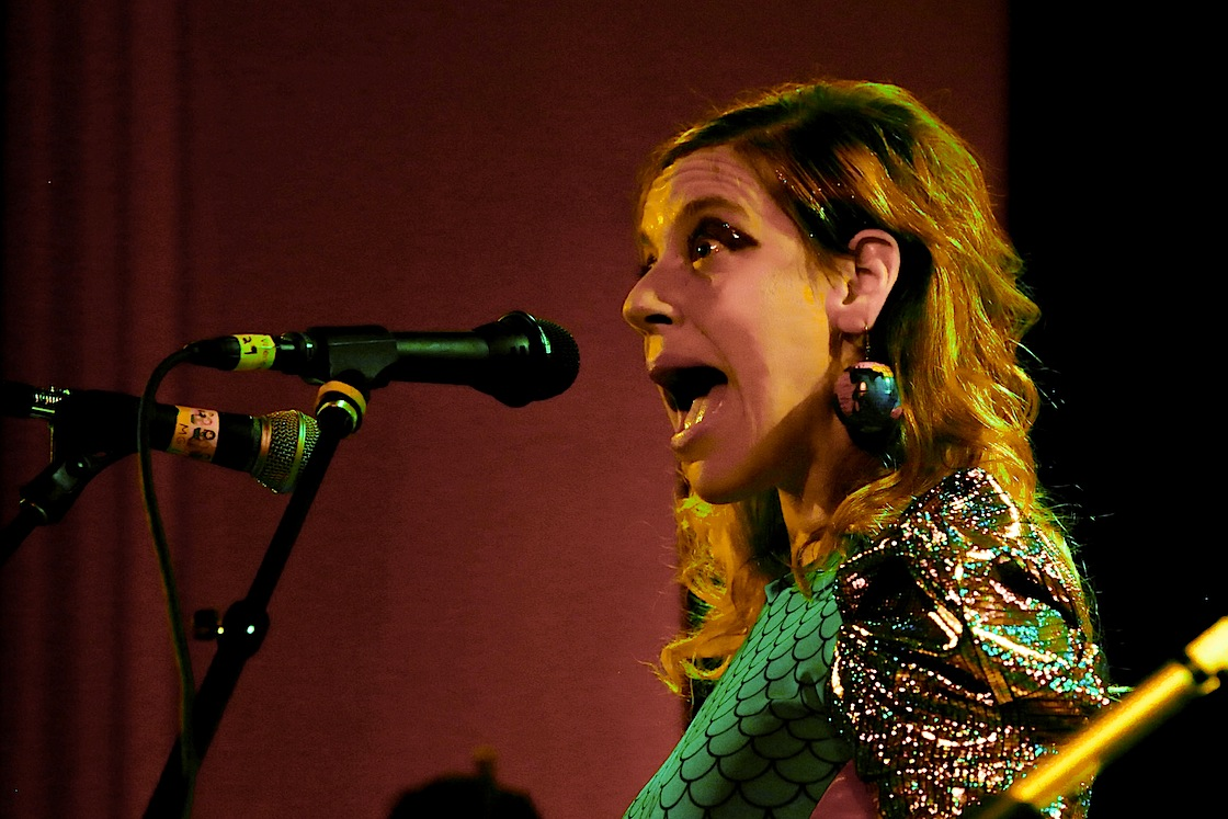 tUnE-yArDs @ TheChapel, 4/21/14 - Photo by Jon Ching