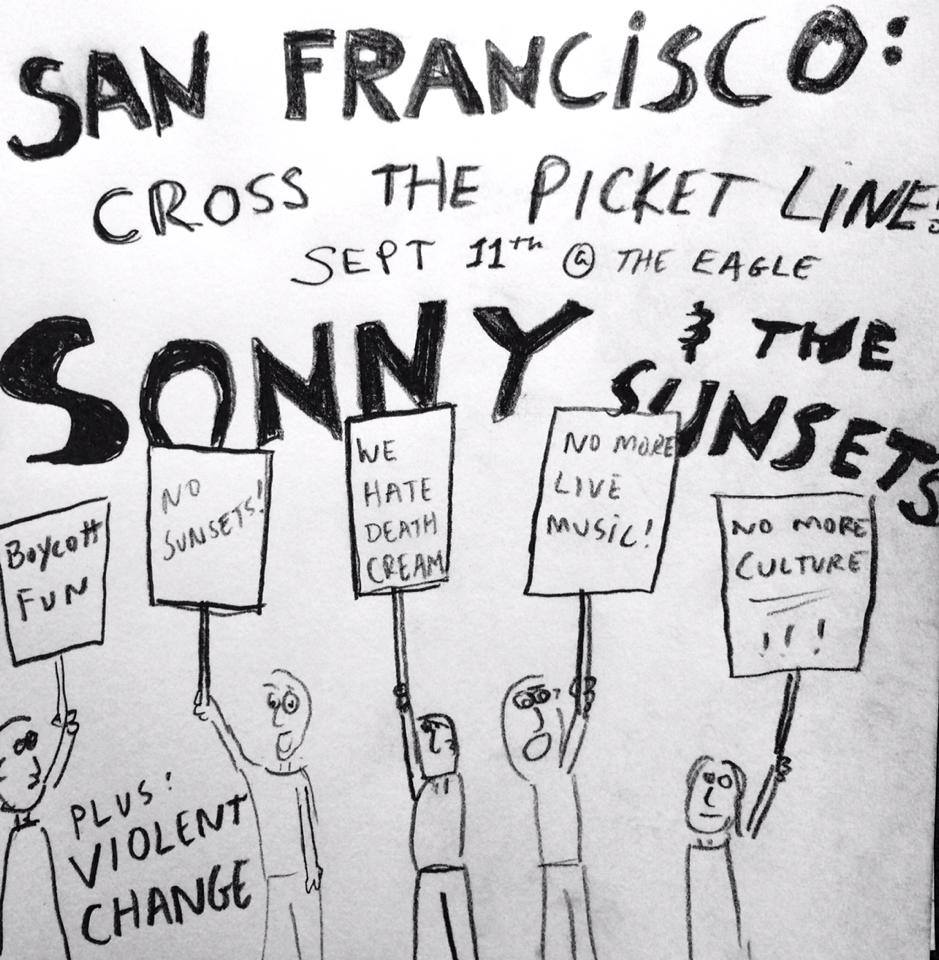 sonny and the sunsets flyer