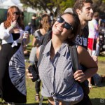 Crowd @ Treasure Island Music Festival 2014 Saturday, by Daniel Kielman