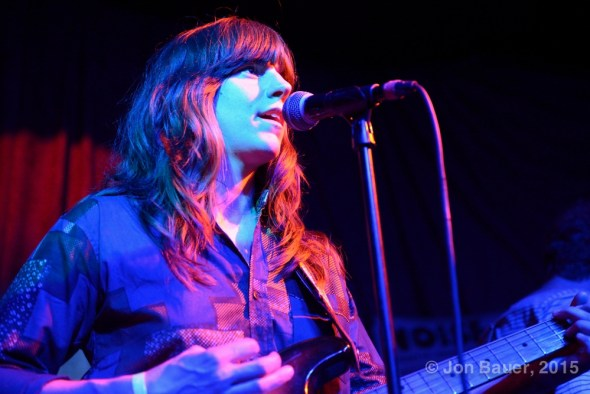 Eleanor Friedberger at Brick & Mortar, by Jon Bauer