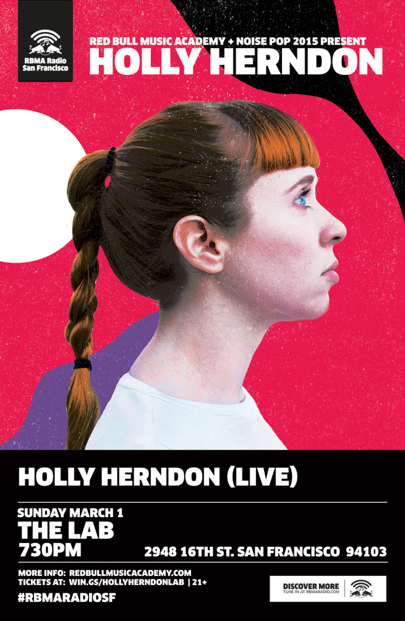 holly herndon poster