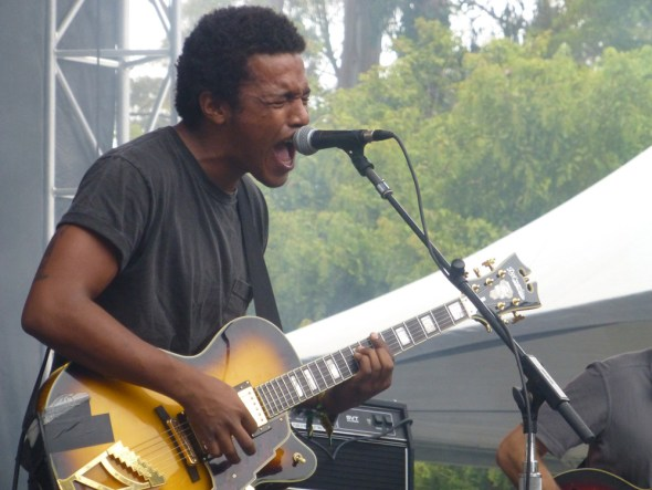 Benjamin Booker at Outside Lands, by Roman Gokhman