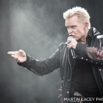 Billy Idol at Outside Lands, by Martin Lacey
