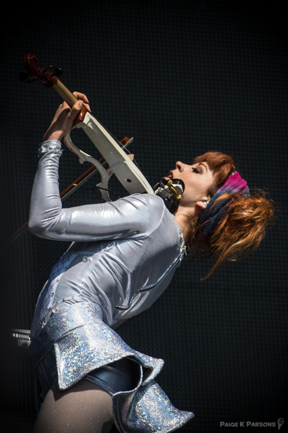 Lindsey Sterling at Outside Lands, by Paige Parsons
