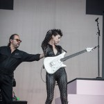 St. Vincent at Outside Lands, by Martin Lacey