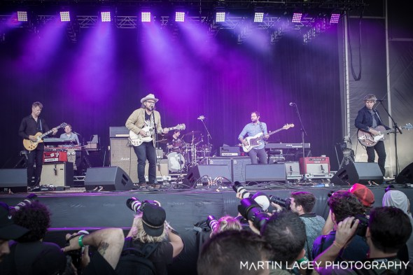 Wilco at Outside Lands, by Martin Lacey