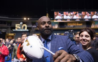 Jerry Rice 50 at SAP Center, by Jon Bauer