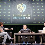 Kara Swisher, Steve Wozniak , Palmer Luckey Silicon Valley Comic Con at the San Jose Convention Center, by Jon Bauer