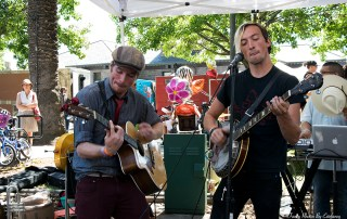 Buck-Thrifty at the Railroad Square Music Festival, by Estefany Gonzalez