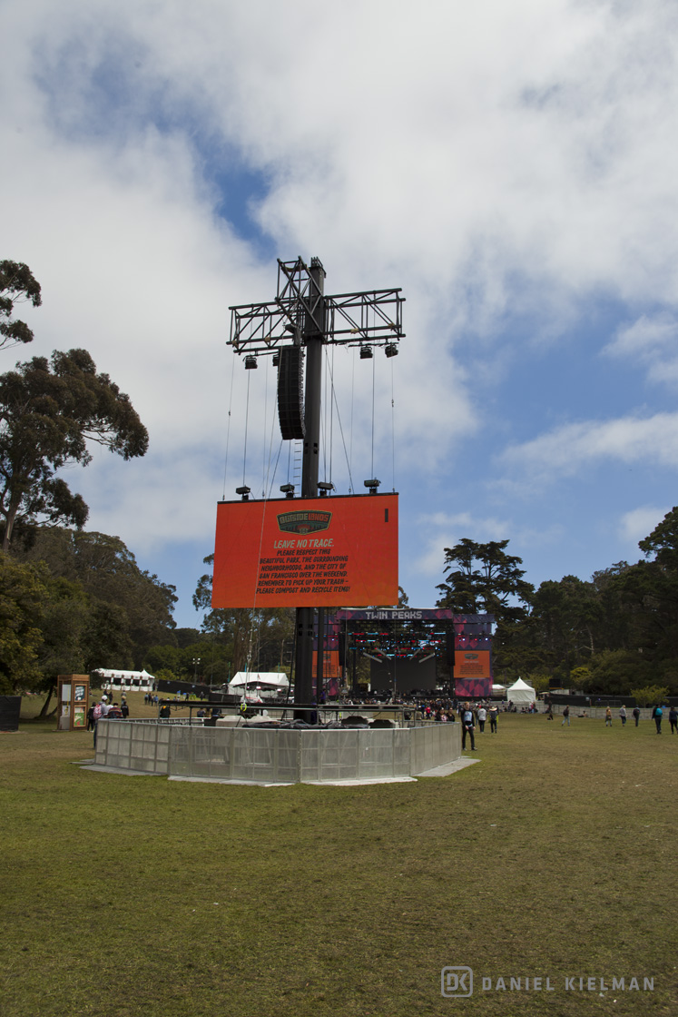 Crowd at the Outside Lands Music Festival 2016, by Daniel Kielman 001