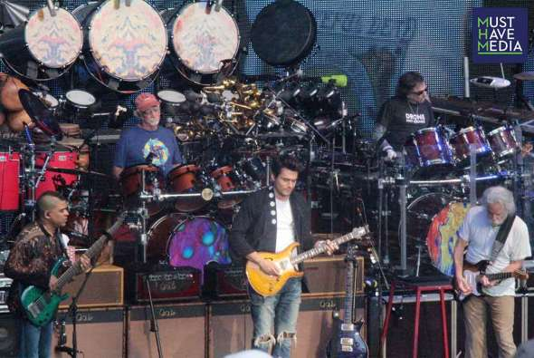 Dead & Company at the Shoreline Amphitheater, by Joshua Huver