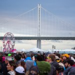 Crowd at Treasure Island Music Festival 2016, by Jon Ching