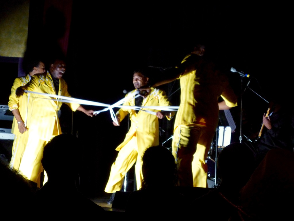 The Spinners at Yoshi's Oakland, by Carla Bova 13