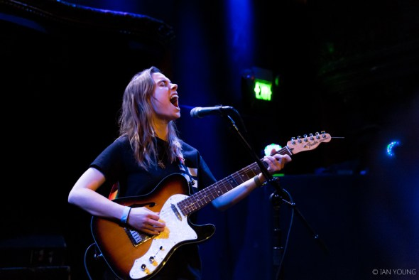 Julien Baker at the Great American Music Hall for Noise Pop 2017, by Ian Young