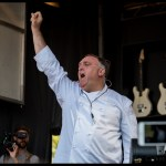 Chef Jose Andres at the Williams Sonoma Culinary Stage at BottleRock Napa 2017, by Patric Carver