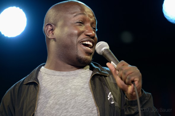 Hannibal Buress at Colossal Clusterfest 2017, by Jon Bauer
