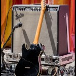 Telecaster and Super Reverb at Burger Boogaloo 2017, by Patric Carver