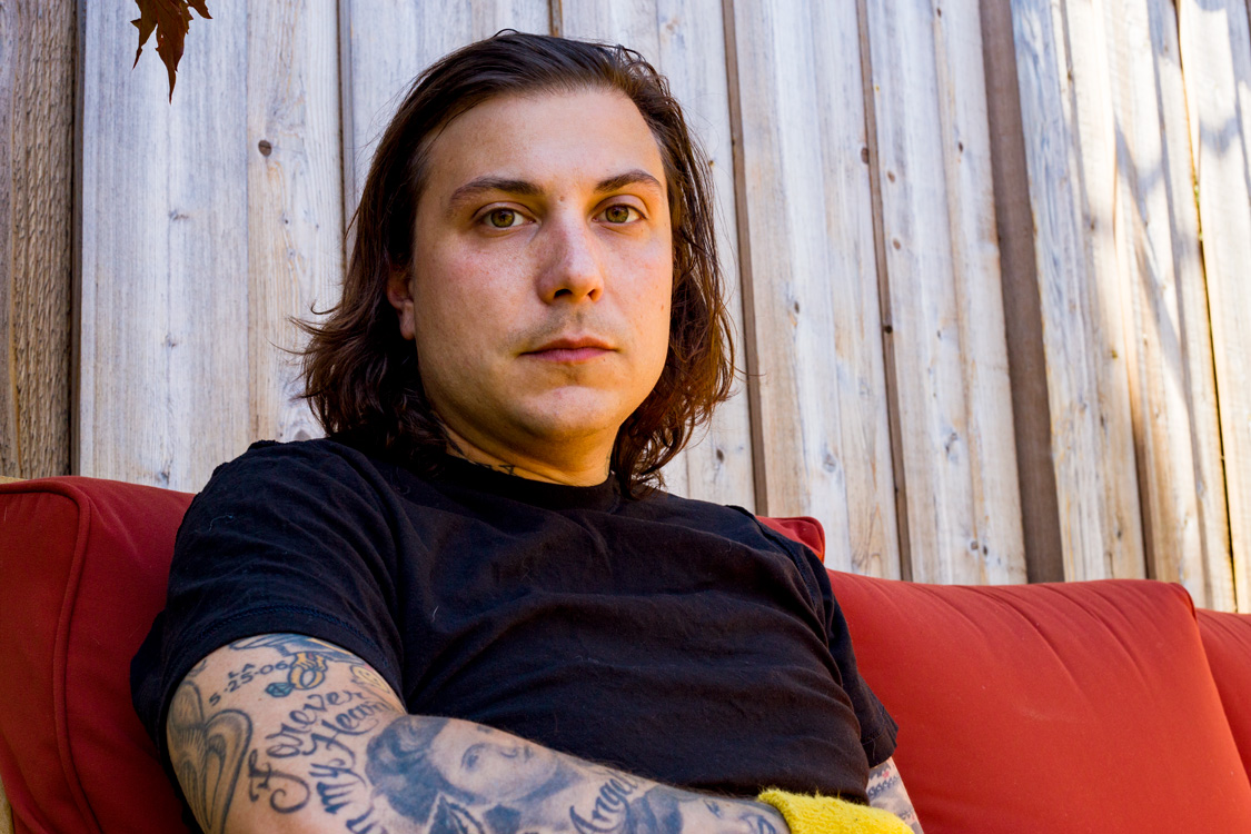 Photos Behind The Scenes With Frank Iero And Thrice At Concord