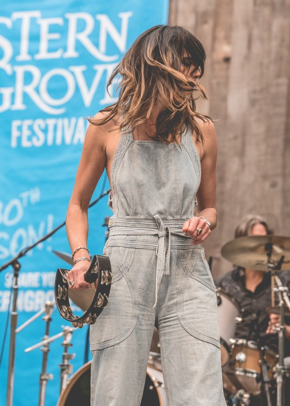 Nicki Bluhm & The Gramblers at Stern Grove Festival, by Robert Alleyne