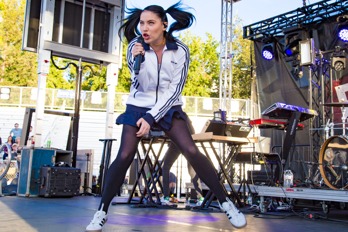 Bishop Briggs at City Of Trees Festival by Estefany Gonzalez