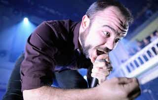 Future Islands at Paradiso, by Jon Bauer