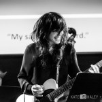 Allyson Baker from Dirty Ghosts - The Music Of Rushmore at the Chapel, by Kate Haley