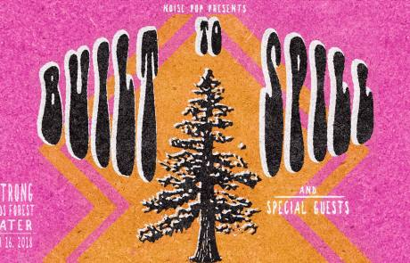Noise Pop announces benefit show with Built To Spill in NorCal redwoods