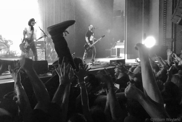The Distillers at Fox Theater, by William Wayland