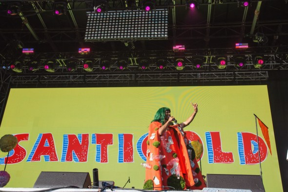 Santigold at Treasure Island Music Festival 2018, by Priscilla Rodriguez