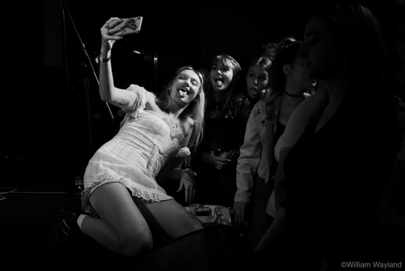 Cailin Russo of Russo at Cafe du Nord, by William Wayland