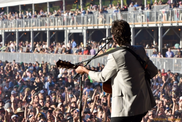Jonathan Russell of The Head and The Heart at Bottlerock 2018, by William Wayland