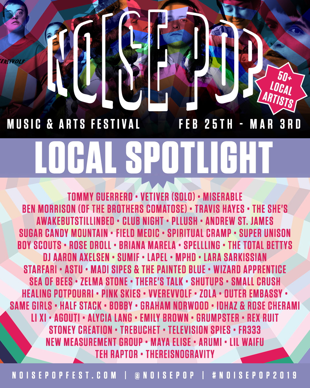 Noise Pop Festival 2019 - Local Artist Spotlight
