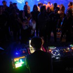 Michael Claus at MUTEK.SF 2019 at the Academy Of Sciences, by Jon Bauer