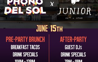 Phono del Sol Brunch After Party