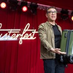 Fred Armisen at Clusterfest 2019, by SarahJayn Kemp