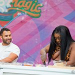 CupcakKe with BA's Andy Baraghani at Outside Lands 2019, by Daniel Kielman