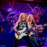 Iron Maiden at Oracle Arena, by Joshua Huver