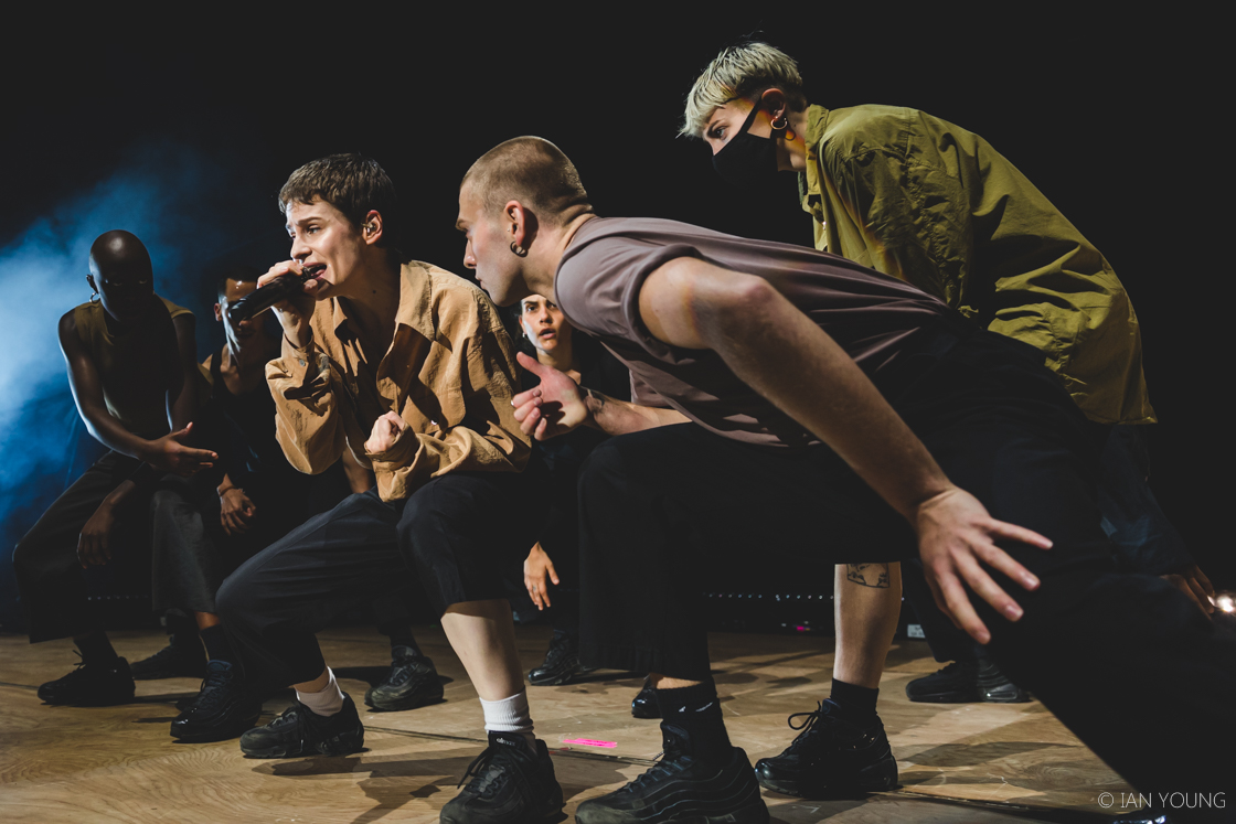 Christine and the Queens at Concord Pavilion, by Ian Young